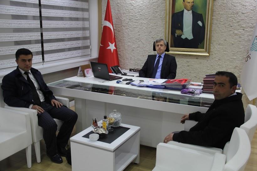 2 genç girişimci Vali Çınar'ı makamında ziyaret etti