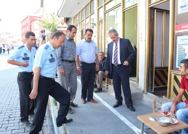 Adilcevaz'da Kaldırımlara Yeni Düzenleme Geldi