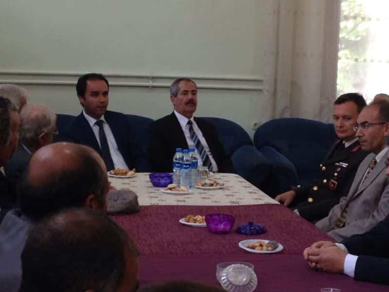Adilcevaz'da Bayramlaşma Töreni Öğretmen Evinde Yapıldı