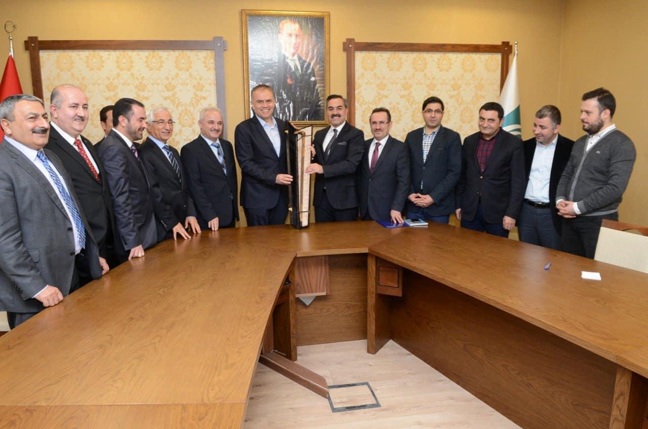 Ahlat ve Çekmeköy Belediyeleri Kardeş İlçe Oldular
