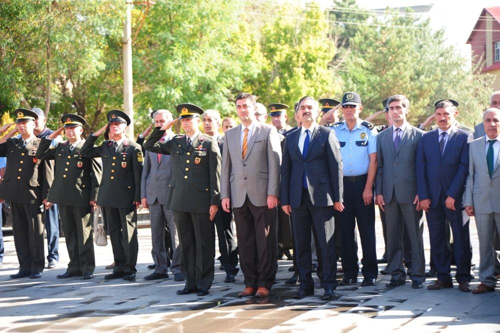 Ahlat'ta 19 Eylül Gaziler Günü Kutlandı