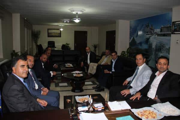 BİGİAD Yönetim Kurulu, Bitlis Belediyesini Ziyaret Etti