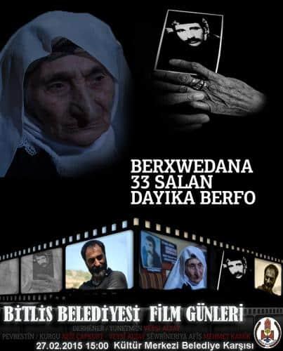 Berfo Ana Belgeseli Bitlis'te Gösterime Girecek