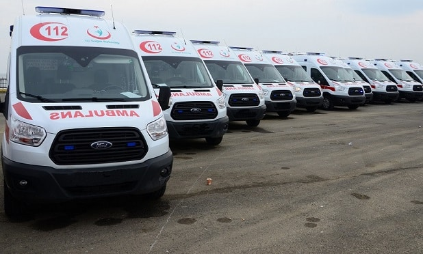Bitlis'e 7 Adet Yeni Ambulans Tahsis Edildi