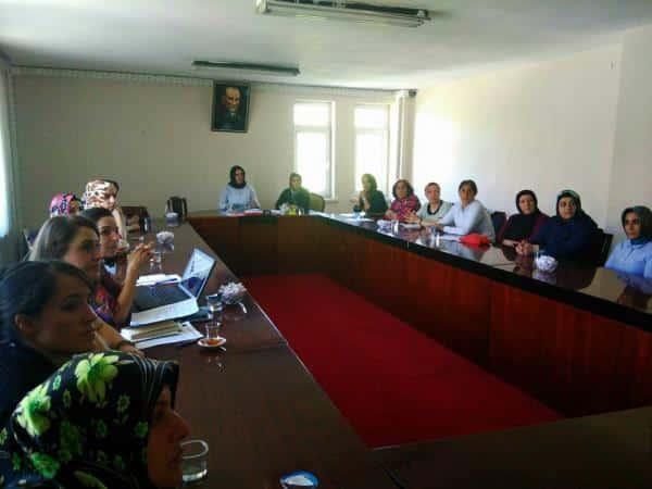 Bitlis Belediyesinde Kadın Kurulu Kuruldu