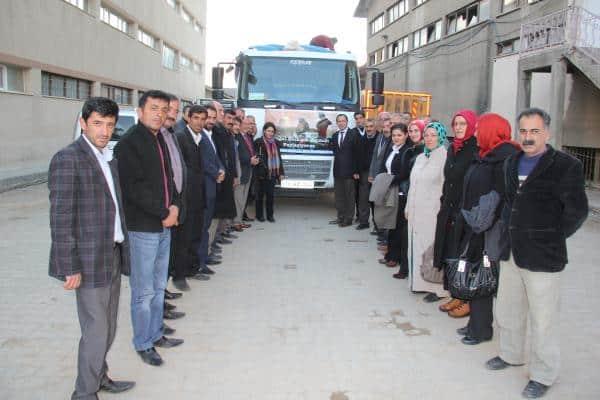 Bitlis Belediyesinden Şengal Halkına Yardım