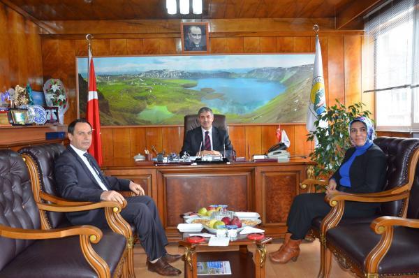 Bitlis Belediyesi'nden AK Partili Belediyelere Ziyaret