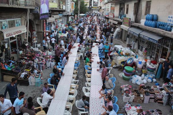 Bitlis Belediyesi'nden Esnaflara İftar Yemeği