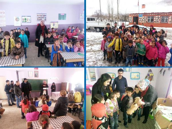Bitlis Belediyesinden Köy Okullarına Destek