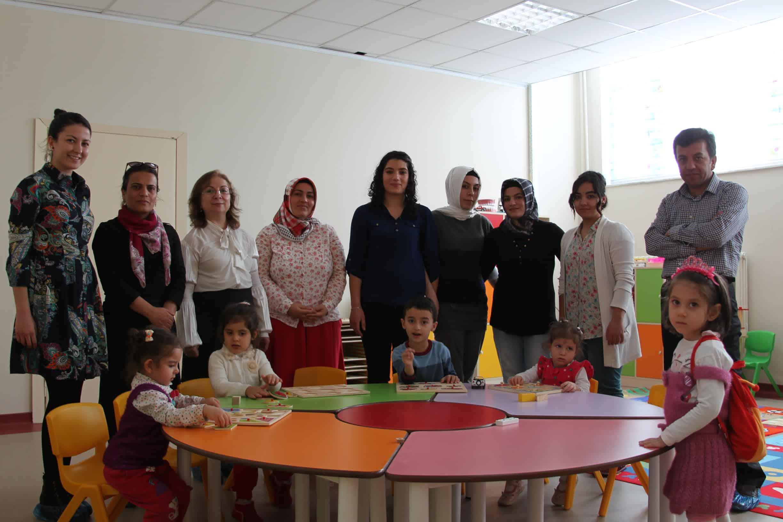 Bitlis Eren Üniversitesi'nde Kreş ve Anaokulu Açıldı
