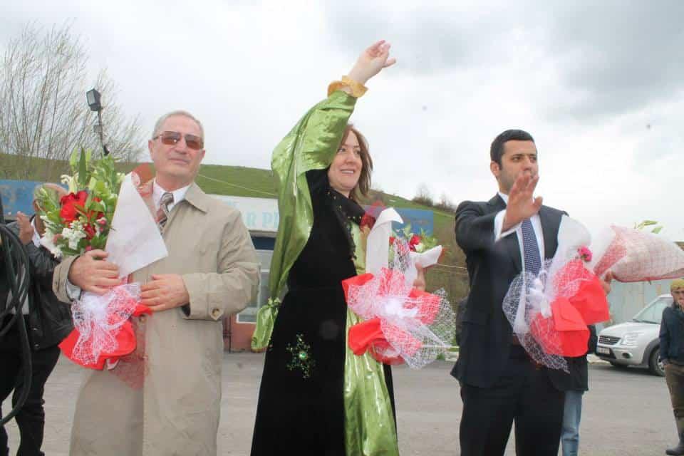 Bitlis HDP Adaylarını Coşkuyla Karşıladı