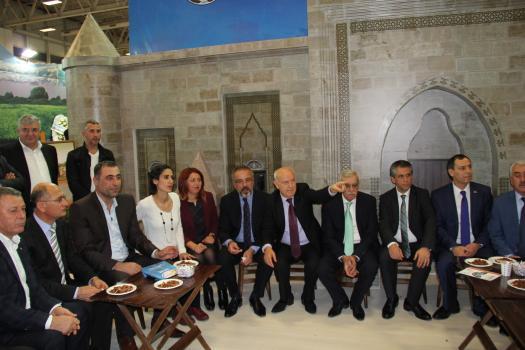 Bitlis Standı Emitt Fuarı'nda Büyük İlgi Gördü