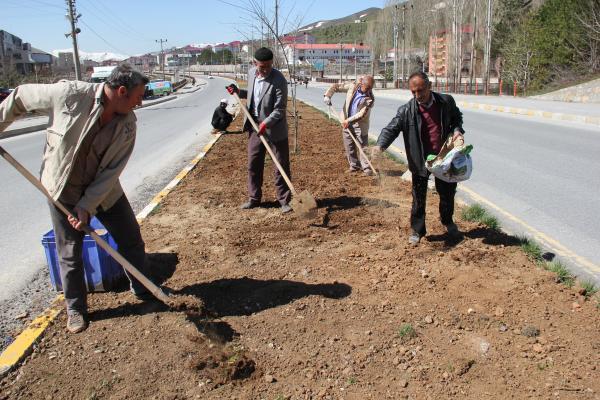 Bitlis'te Bahar Temizliği Başladı