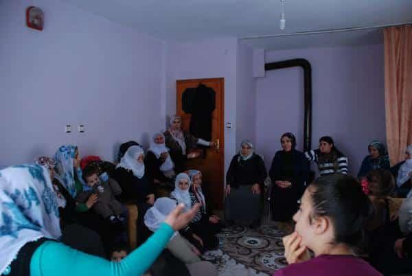 Bitlis'te Halkla Buluşma Toplantıları Devam Ediyor