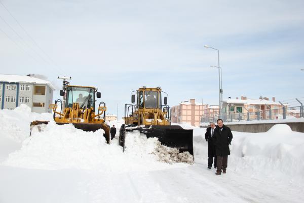 Bitlis'te Kar Temizleme Çalışmaları