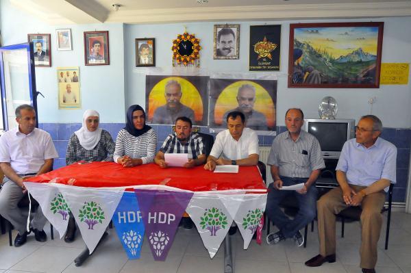 Bitlis'te Kobani'ye Yardım Kampanyası Başlatıldı