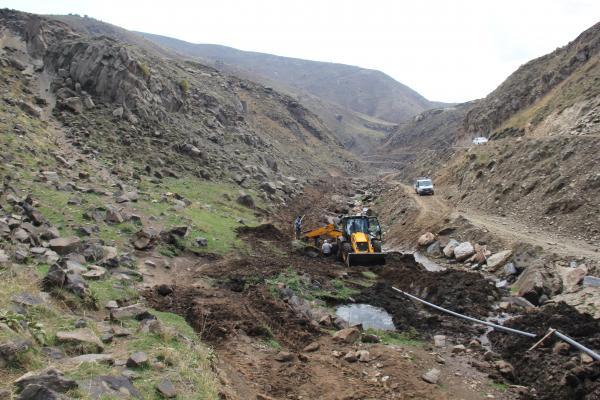 Bitlis'te Su Sorununu Çözmek İçin Çalışmalar Devam Ediyor