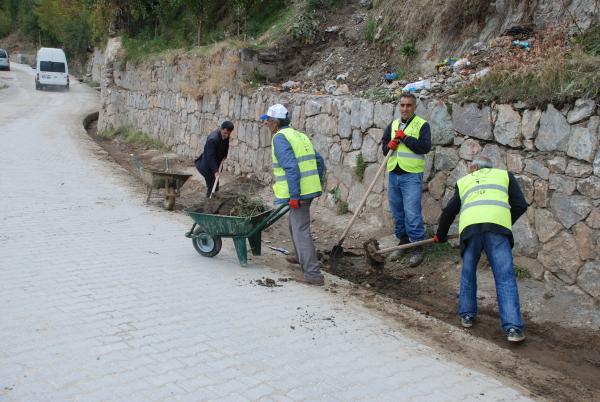 Bitlis'te Temizlik Çalışmaları Devam Ediyor