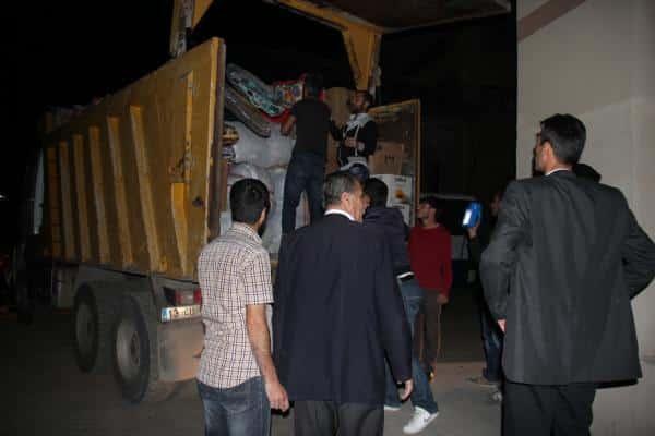 Bitlis'te Toplanan Yardımlar Suruc'a Ulaştı