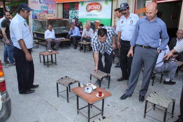 Bitlis Zabıtası Denetimlerine Devam Ediyor