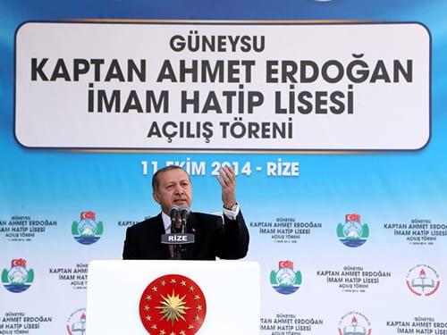 Erdoğan, Babasının Adını Taşıyan Okulu Açtı