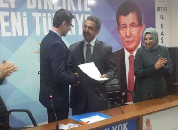 Fatih Kadirioğlu, Adaylık Başvurusunu Yaptı