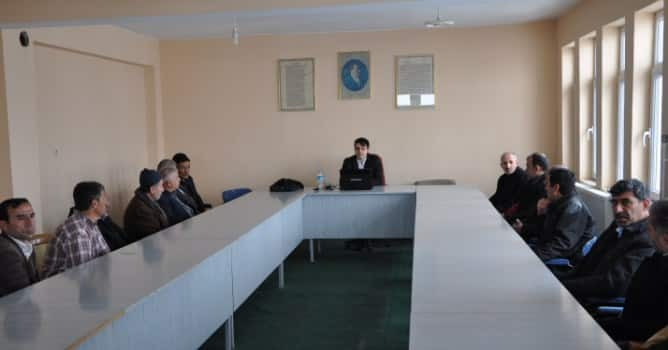 Günkırı'da Personellere İş Güvenliği Eğitimi Verildi