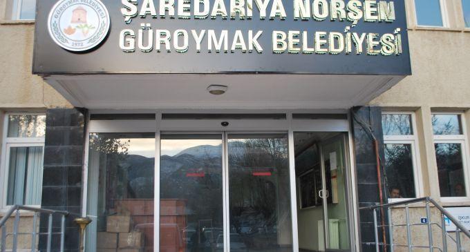 Güroymak Belediyesi'ne Sözleşmeli Personel Alım İlanı