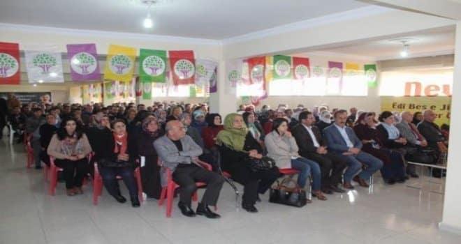 HDP Bitlis'te Yeni Yönetimini Belirledi