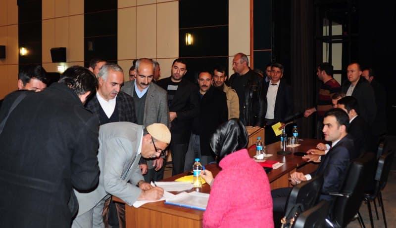 Hizan'da SYDV Mütevelli Heyeti Seçimi Yapıldı