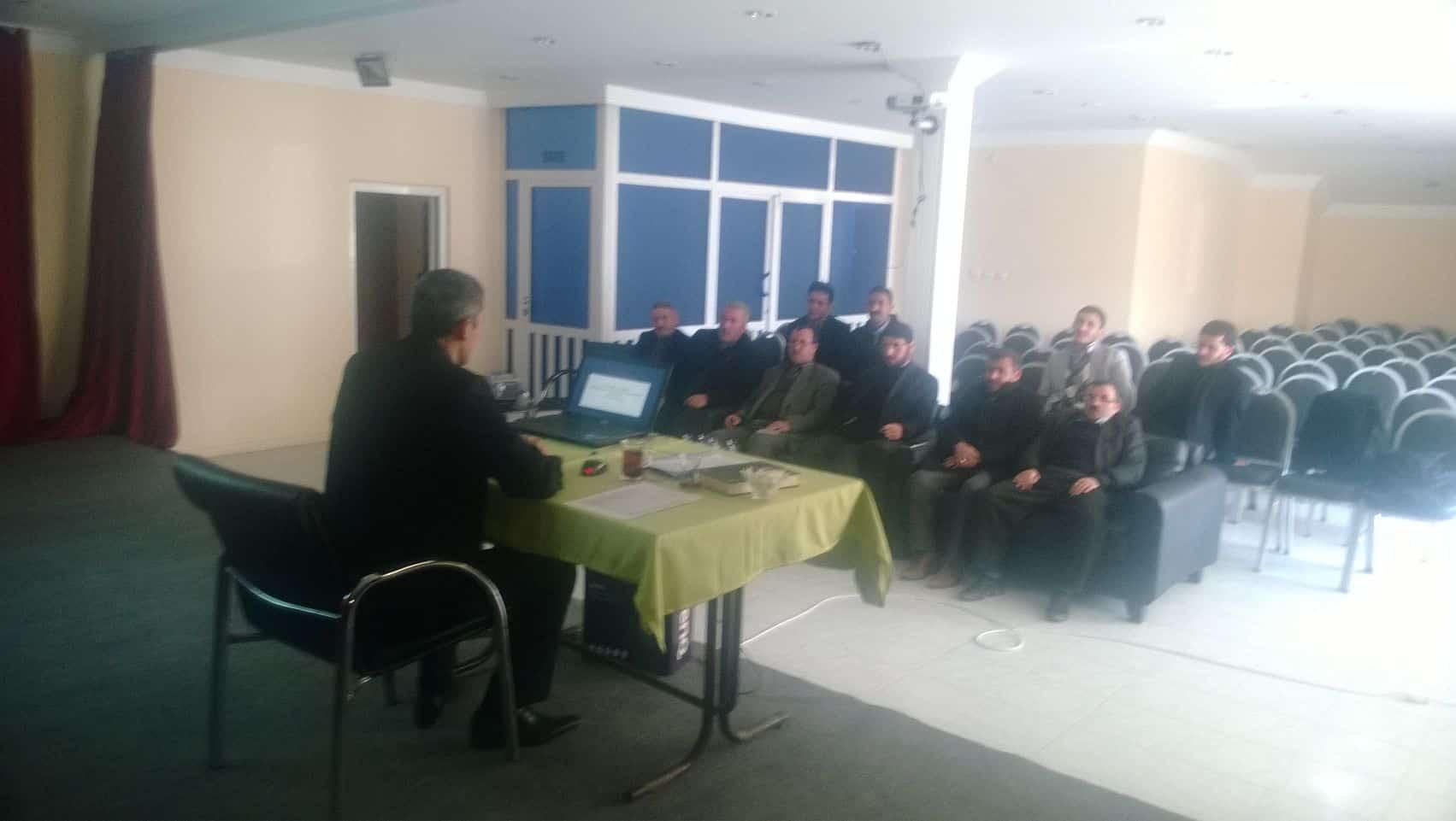 Hizan'da Yüz Yüze Hizmetiçi Eğitim Kursu Sona Erdi