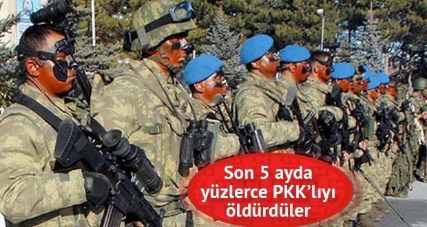 PKK'nın korkulu rüyası mavi bereliler hedef alındı