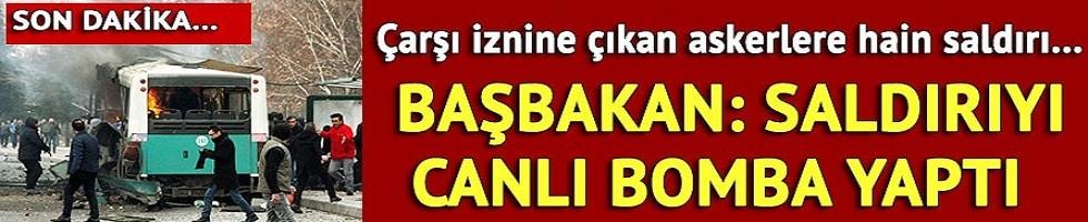 Kayseri'deki hain saldırı 13 şehit 55 yaralı