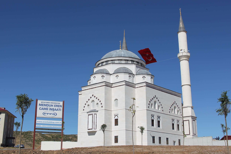 Memduh Eren Camii İbadete Açıldı