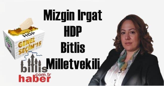 Mizgin Irgat 25. Dönem HDP Bitlis Milletvekili