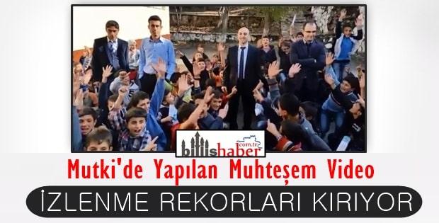 Mutki'de Yapılan Muhteşem Video