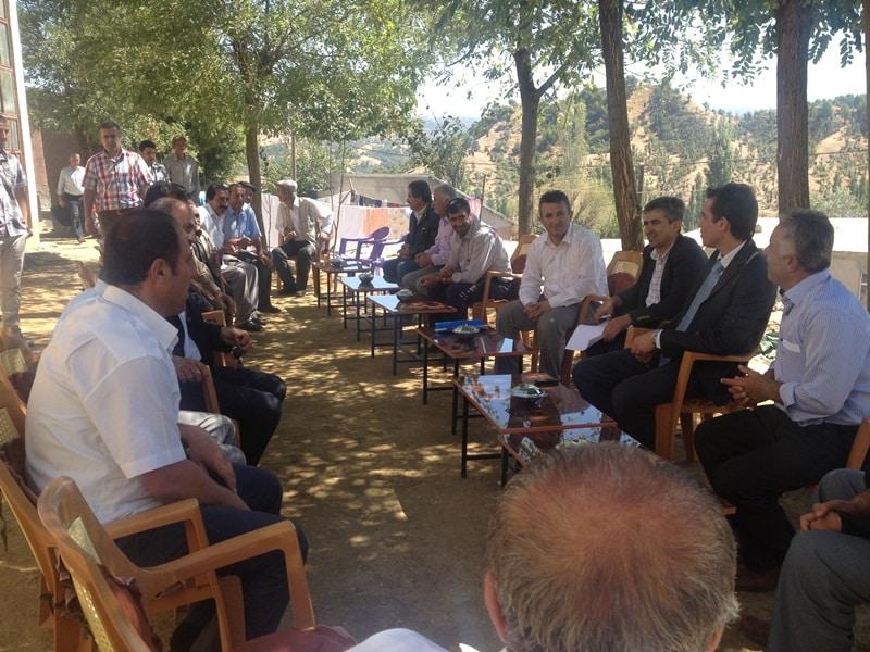 Mutki'de Köy Gezileri Devam Ediyor