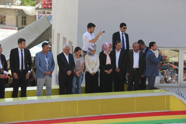 Selahattin Demirtaş Bitlis'e Geldi