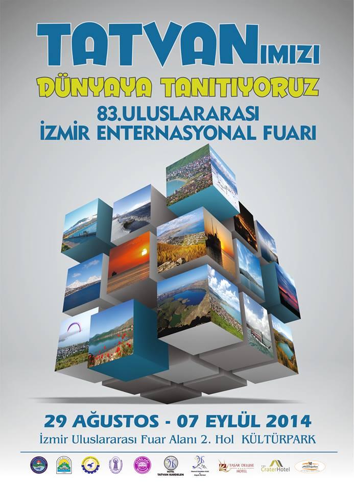 Tatvan 83. İzmir Enternasyonel Fuarına Hazırlanıyor