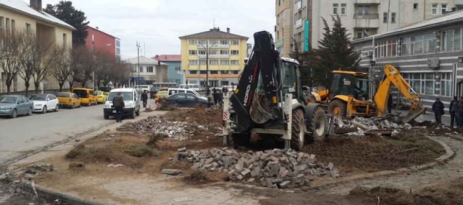 Tatvan Belediyesi'nden Yeni Yol Çalışmaları