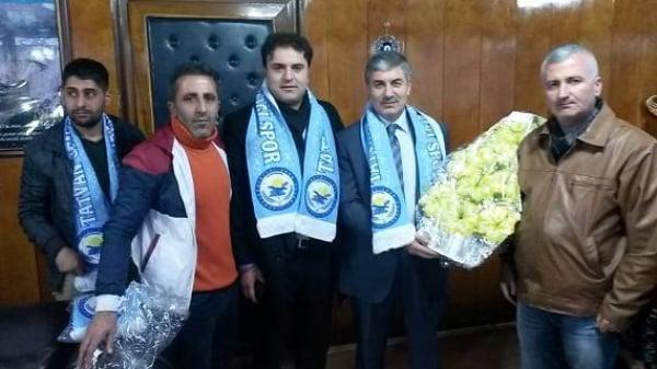 Tatvan Gençlerbirliği, Başkan Fettah Aksoy'u Ziyaret Etti