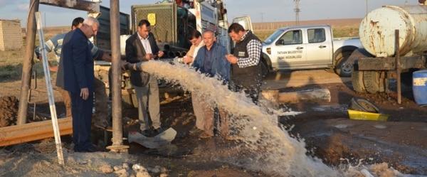 Tatvan'da İçme Suyu Sondaj Çalışması