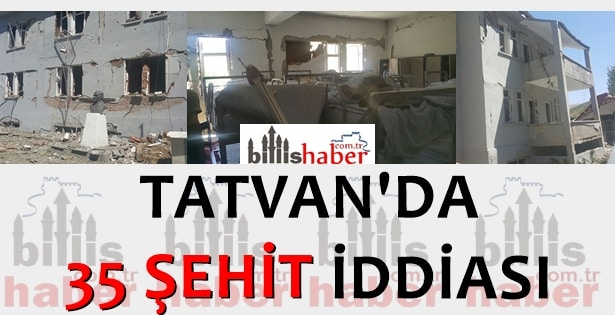 Tatvan'da 35 Şehit İddiası Asılsız Çıktı