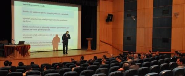 Tatvan'da Belediye Personeline Eğitim Verildi