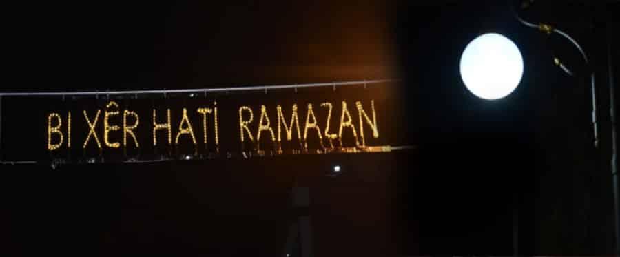 Tatvan'da Ramazan Sokağı Yapıldı