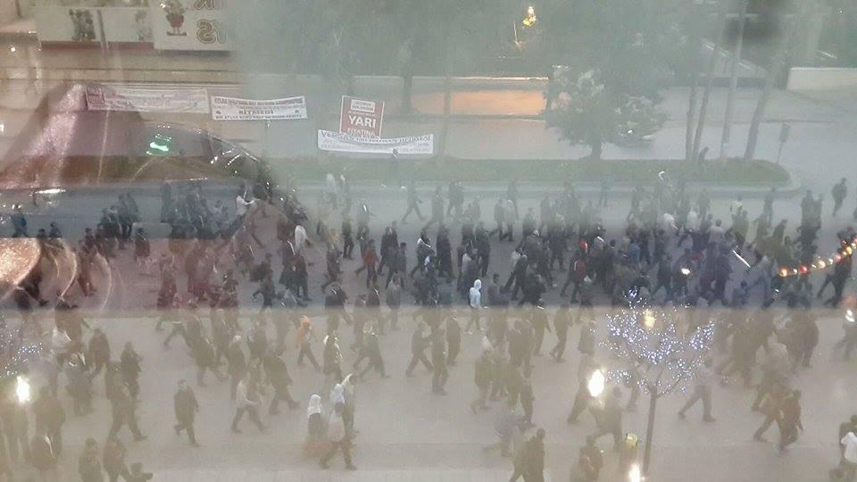 Tatvan'da Tekrar Kobani Gerginliği