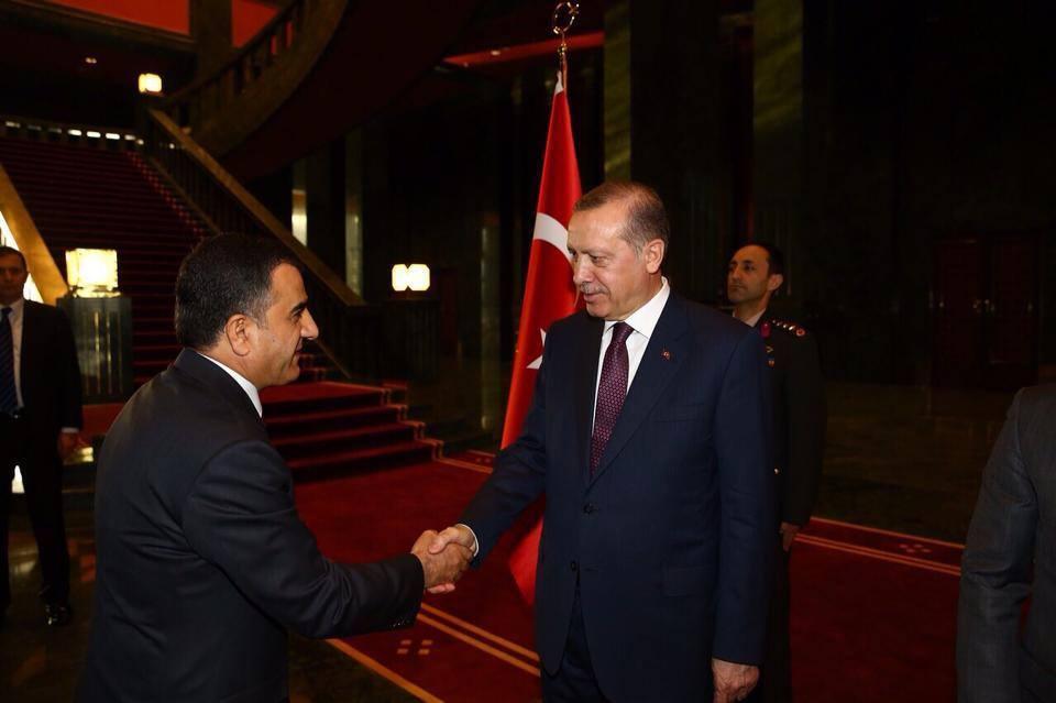 Zeki Peker, Cumhurbaşkanı Erdoğan'ı Ziyaret Etti