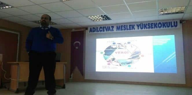 Adilcevaz 'vergi bilinci' konferansı