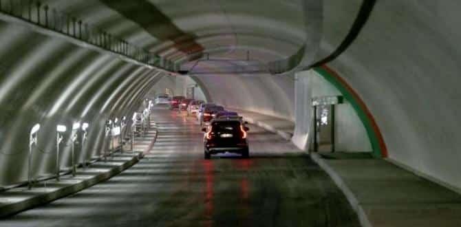 Avrasya Tüneli'nin açılışına sayılı günler kaldı