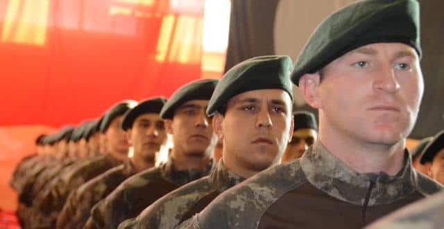 Balıkesir'de özel harekat polisleri yemin etti